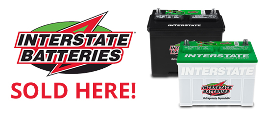 Who Makes Interstate Batteries >> Interstate Batteries Sold Here Bartley S Paint Body Shop